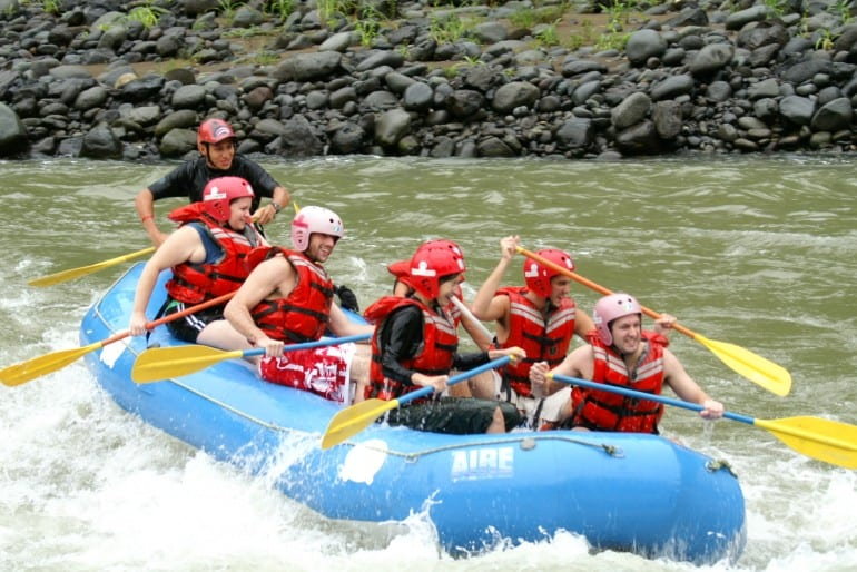 Adventure and nature in one word: Pacuare!