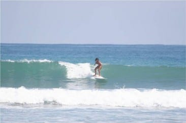 Surfing in Paradise!
