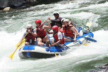 Rafting Championship at Pacuare River
