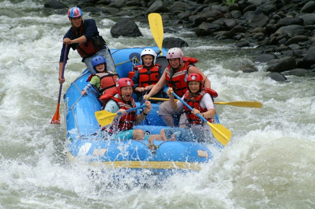 a discussion on white water rafting