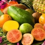 Tropical fruit of Costa Rica