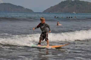 Del Mar Surfing Academy Kids' Surf Club in Costa Rica