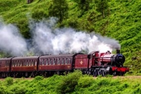 Experience the romance of old-fashioned train travel in Monteverde's Cloud Forest