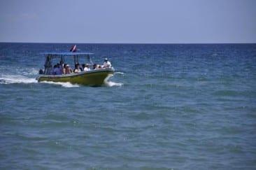 Boat Trip To Santa Teresa Beach, Costa Rica.