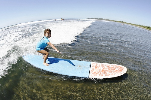 Del Mar Surfing Academy in Costa Rica teaches kids to surf