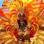 Limon Carnival in October celebrates Costa Rica's Afro-Caribbean culture