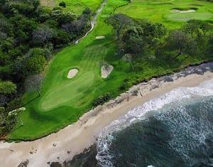 Costa Rica boasts world-class golf like this course at Hacienda Pinilla