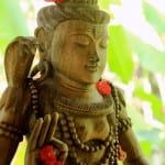 Hindu god Shiva at Pranamar Villas yoga shala in Costa Rica