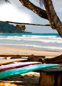 Playa Santa Teresa in Costa Rica is a surfer's paradise