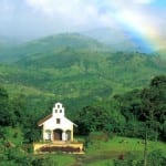 Villa Blanca Cloud Forest Hotel chapel in Costa Rica's Central Highlands