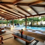 Tropical architecture at Hotel Tropico Latino in Costa Rica