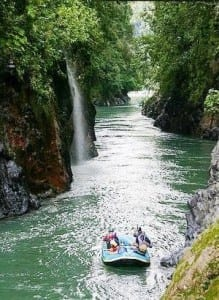 The Pacuare River in Costa Rica is one of the best rafting trips in the world