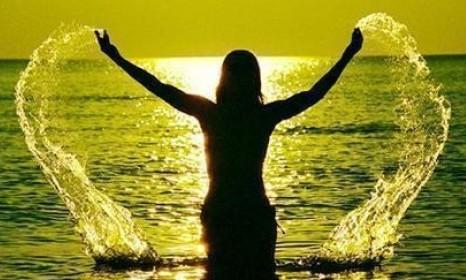 Happiness, bliss & the beauty of life on Santa Teresa Beach