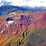 Rincon de la Vieja - Santa Maria volcanoes in Guanacaste, Costa Rica