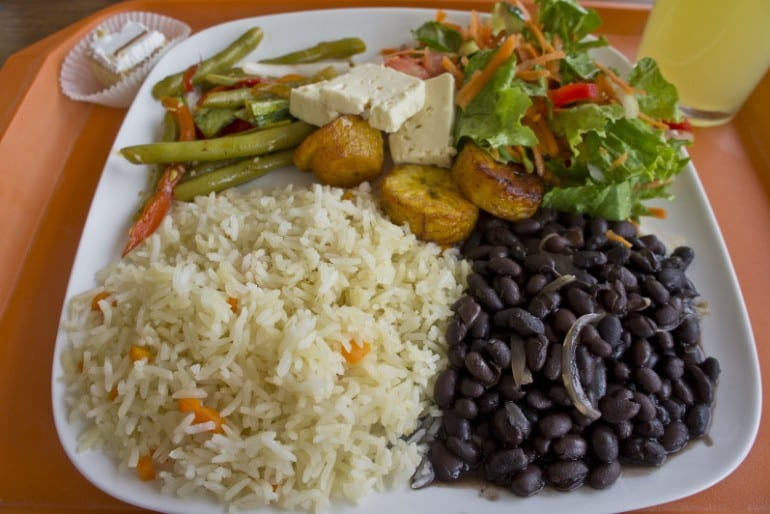 Easy tips to travel Costa Rica as a vegetarian / vegan