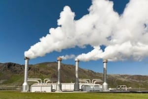 Geothermal energy in Costa Rica, photo by the Tico Times