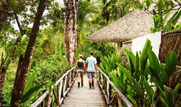 Lapa Rios eco lodge in the Costa Rica rainforest