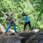 Yoga in nature at Portasol, Costa Rica