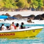 Zuma Tours boat taxi from Jaco to Montezuma on the Nicoya Peninsula