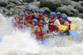 Pacuare River is Costa Rica's best rafting adventure