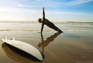 Yoga for surfers, photo by Yoga Journal