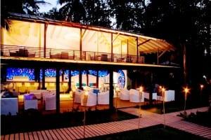 Le Cameleon Hotel restaurant, Caribbean, Costa Rica