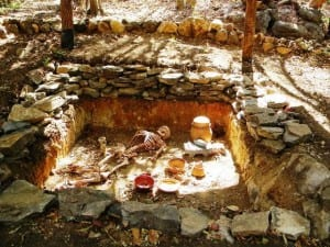 Burial tomb at Rincon de la Vieja