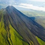 Arenal Volcano - aerial view