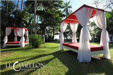 Hotel Le Caméléon opens new beachfront club on Caribbean