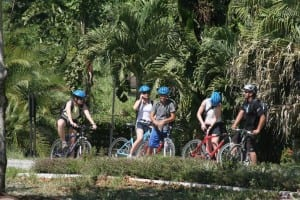 Biking in Turrialba Valley