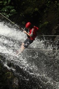 Canyoning in Turrialba with Explornatura