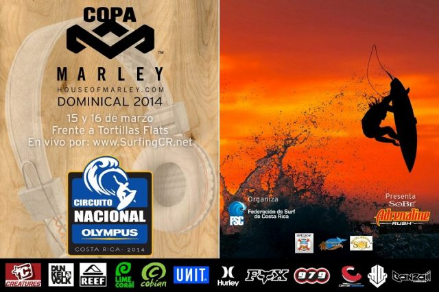 Copa Marley Dominical Costa Rica 2014