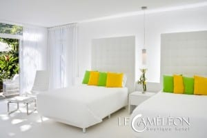 Le Cameleon rooms