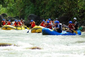 Rafting in Arenal Costa Rica
