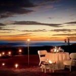 Cala Luna romantic sunset dinner