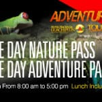 One day pass tour Hacienda Guachipelin