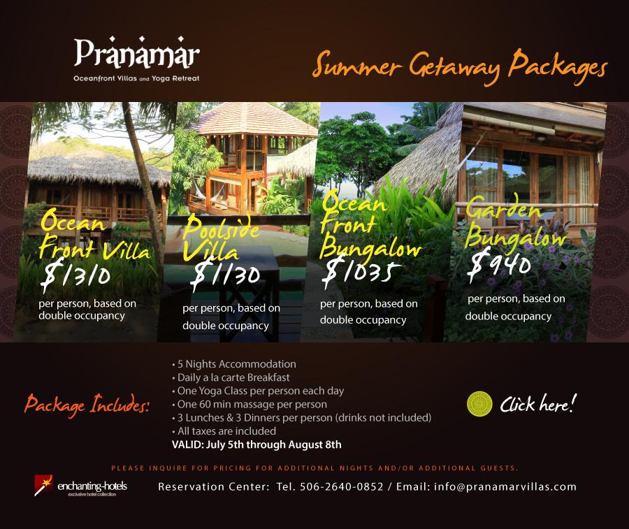 Summer Getaway Packages