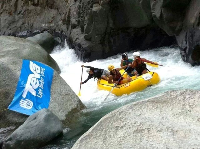 Rafting on the Naranjo River