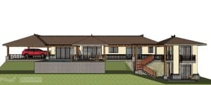 Las Brisas home plan in Atenas