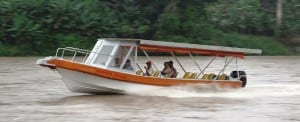 Boating on San Carlos River