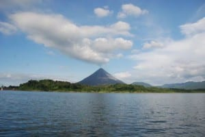 Arenal Lake and Volcano, Costa Rica, image by arenal.net