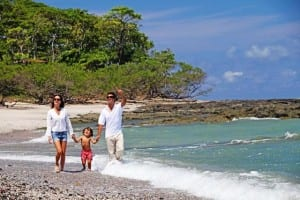 Family beach vacation Costa Rica