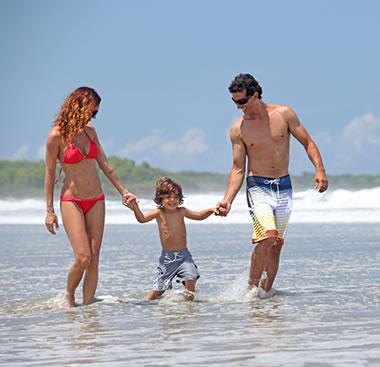 Family travel in Costa Rica
