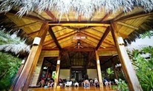 Yoga studio at Pranamar Villas