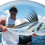 Fishing Roosterfish in Quepos Costa Rica