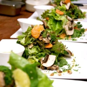 Pranamar Villas cuisine - healthy salads