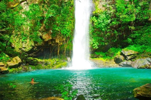 Waterfall Cangreja at Rincon de la Vieja