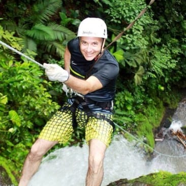 Going deep into the Lost Canyon on a Costa Rica canyoneering adventure