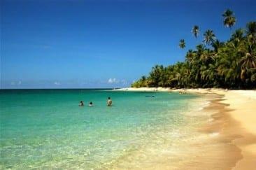 Sunshine and summer warm Costa Rica Caribbean Coast in October