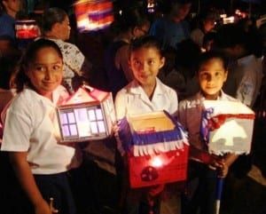 Independence Day lantern ceremony